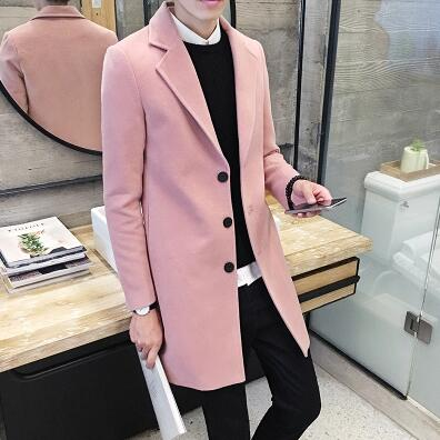 Men's Long Suit Coat Blazer - 3 Colors!