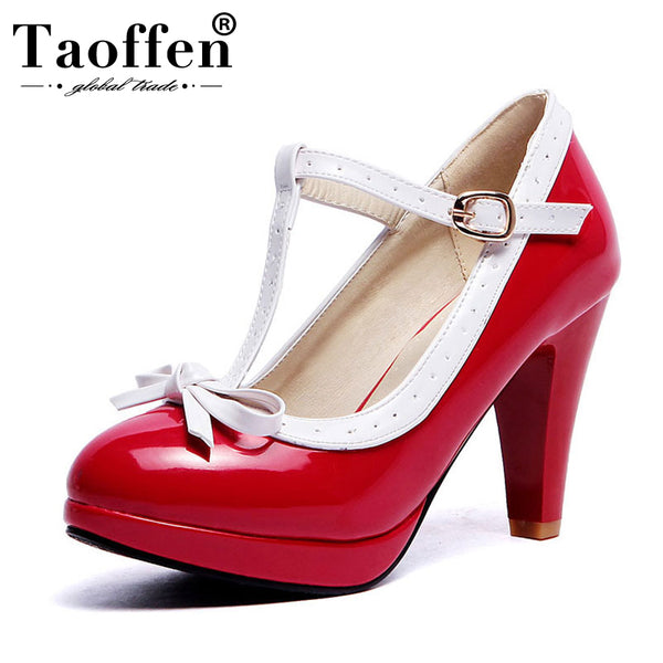 Women's Two Tone Pumps - 12 Colors!