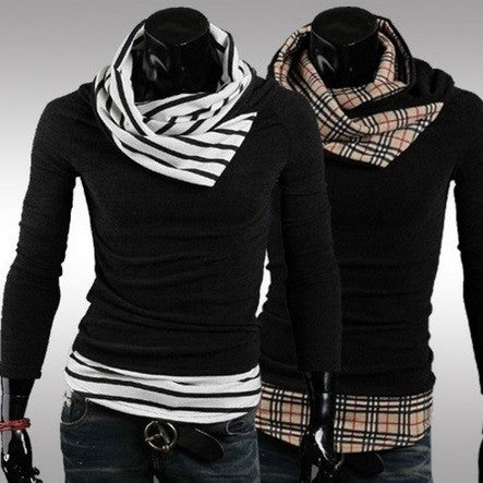 NEW! Plaid & Striped Turtle Neck - Hot100Fashions