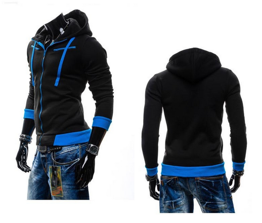 NEW! Men's Casual Zip Down Hoodie! - Hot100Fashions