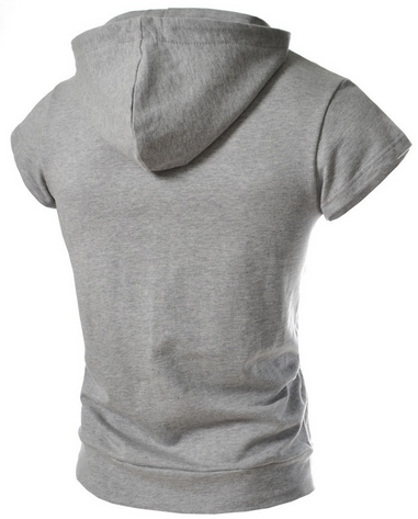 NEW! Men's Sleeveless Crew Hoodie! Comes In 5 COLORS!! - Hot100Fashions