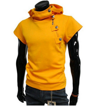 NEW! Men's Sleeveless Crew Hoodie! Comes In 5 COLORS!!