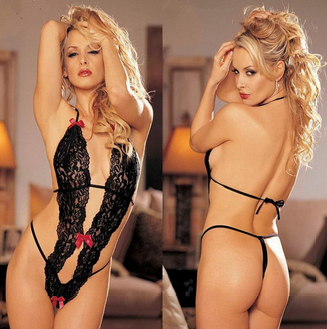 Women's Lace Lingerie Dress