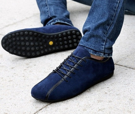 Men's High Quality Leather Sneakers - Hot100Fashions
