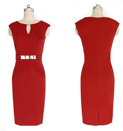 Women's Casual Dress Sleeveless Fashion Party Dress