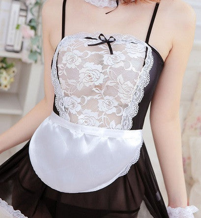 Women's French Maid Uniform Lingerie