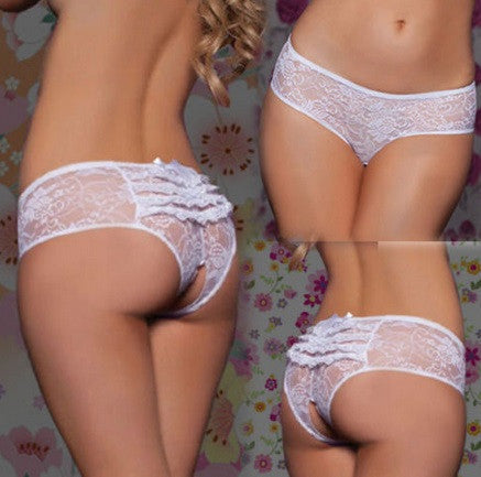 Women's Crotchess Lace Panties