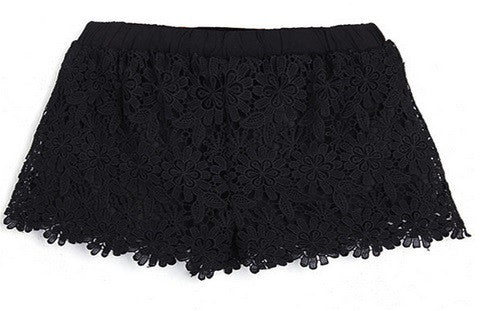 NEW! Women's Cotton Laced Shorts