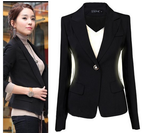 Women s Formal Black Blazer - Hot100Fashions 91a54a109a