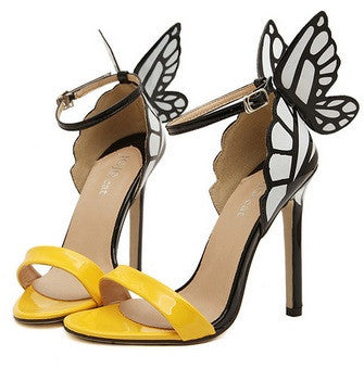 Women's Butterfly High Heels