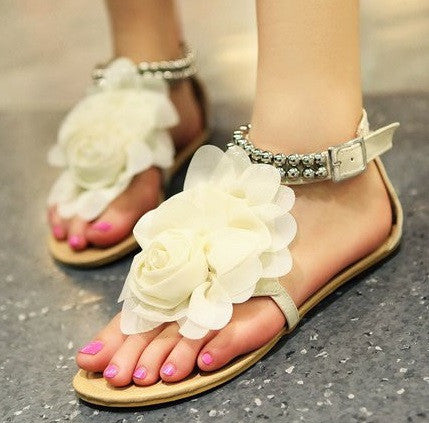 Women's Flower Pattern Sandals
