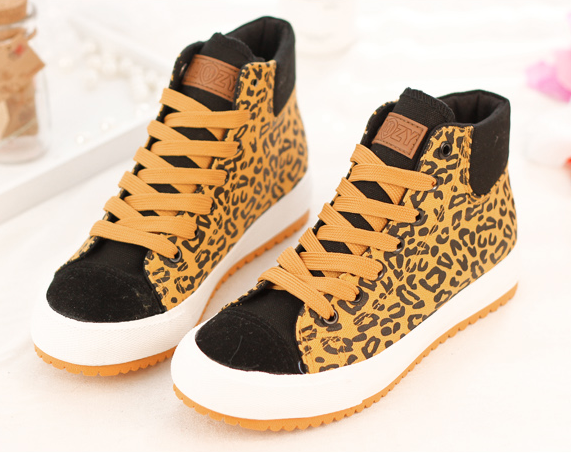 Women's Leopard Sneakers