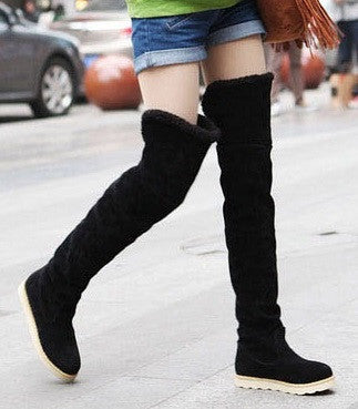 Women's Waterproof Over The Knees Platform Boots