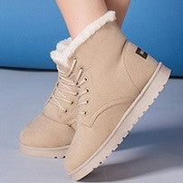 Women's Plush Fashion Warm Winter Boots