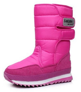 Women's Snow Beauty Waterproof Boots!