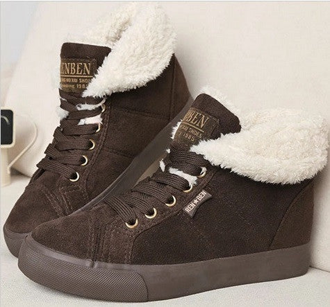 Women's Fur Ankle Boots - 3 Colors