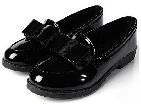 LIMITED SUPPLY - Women's Casual Black Loafers - Hot100Fashions