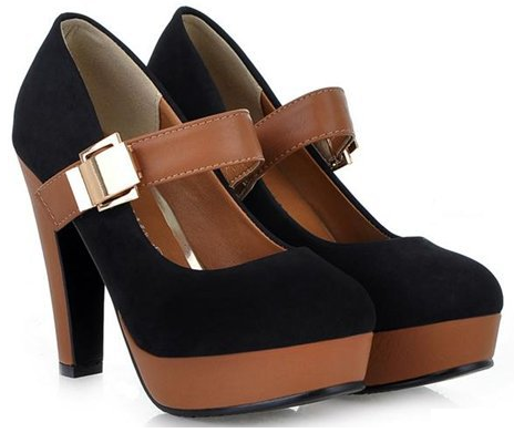Women's Elegant Buckle Fashion Pumps