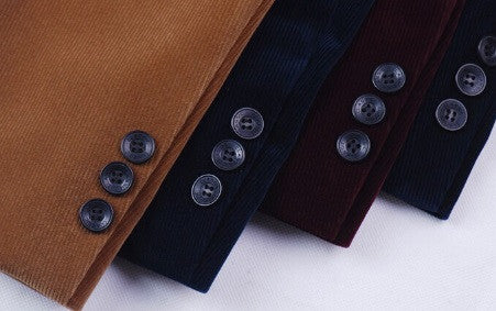 Men's British Style Casual Blazer - 4 Colors!