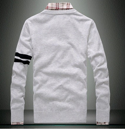 Men's Long-Sleeve Cardigan