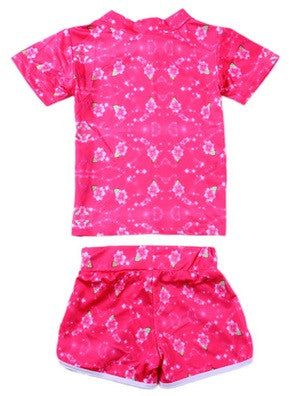 Girls Elsa Anna Shirt + Shorts Combo - Hot100Fashions