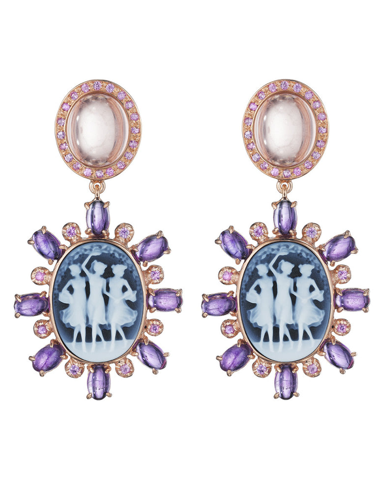 "Couture ""Ballerina"" Earrings"