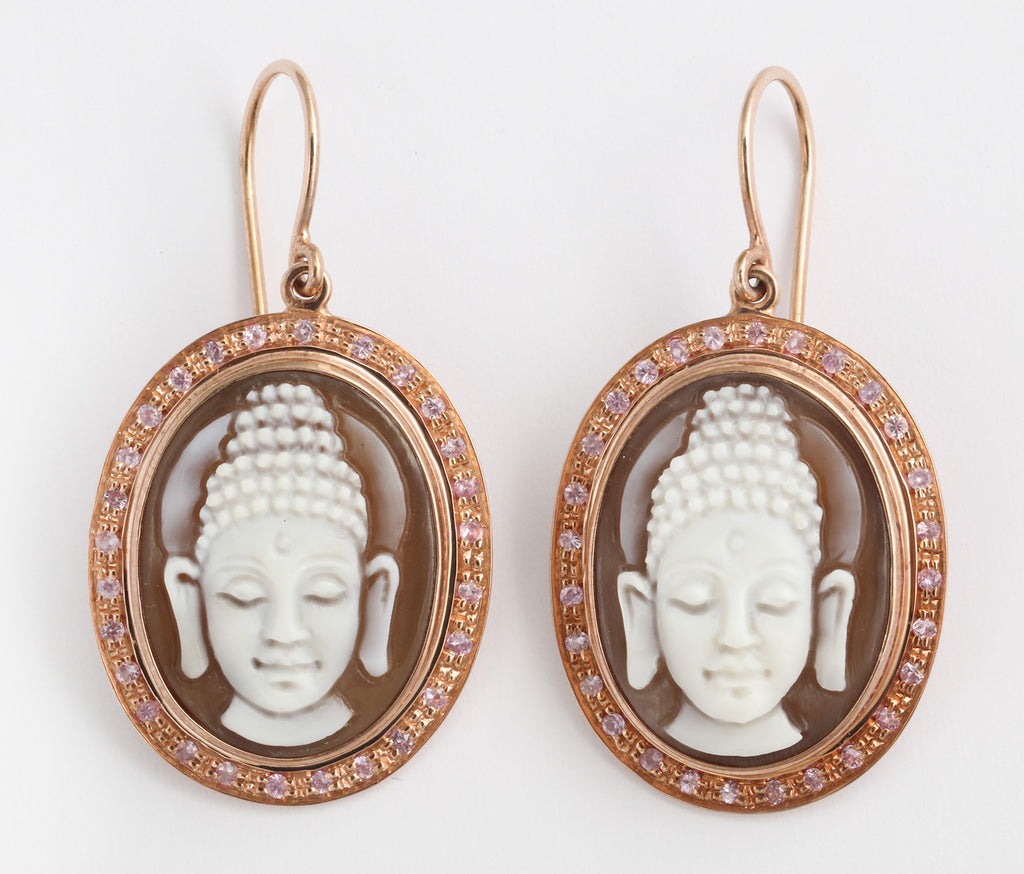 """Buddha"" Earrings"