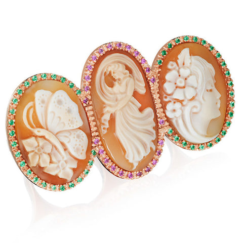 """Three Monkeys"" Ring"