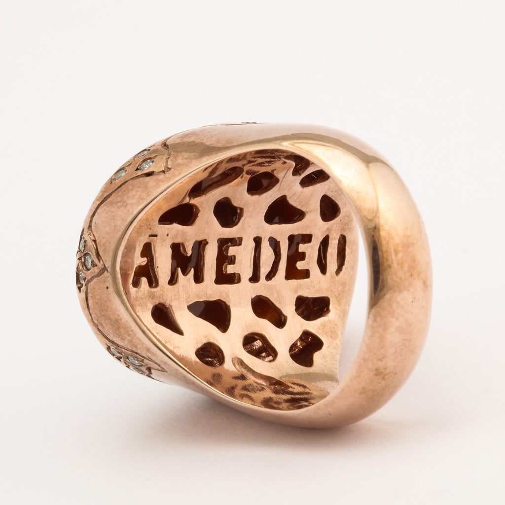 """Naughty or Nice"" Cameo Ring"