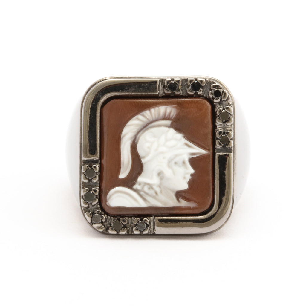 """Soldier"" Cameo Ring"