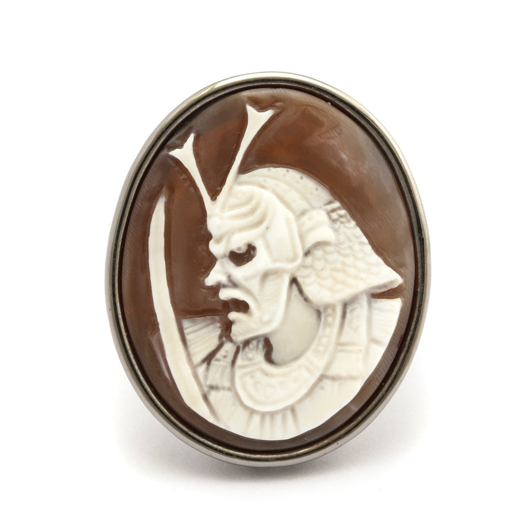 """Ghost Samurai"" Cameo Ring"