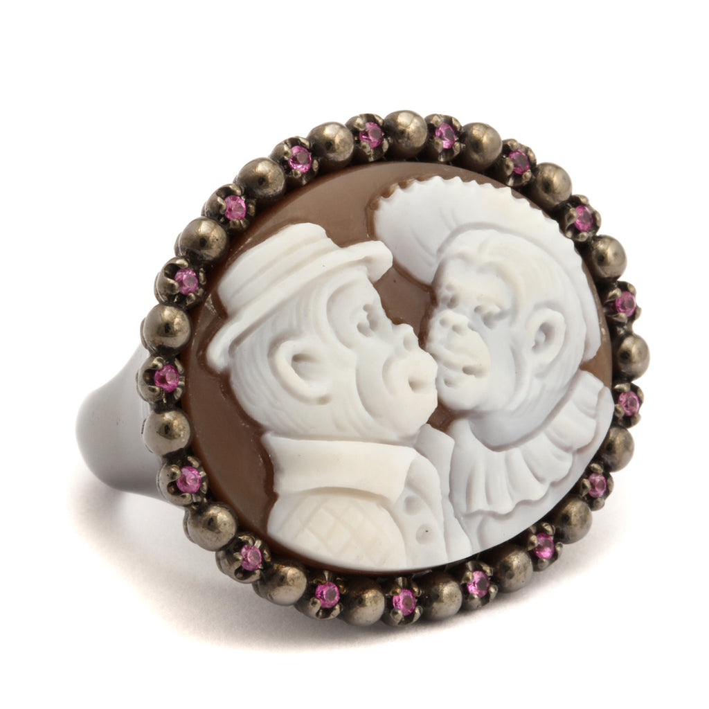 """Monkeys In Love"" Ring"