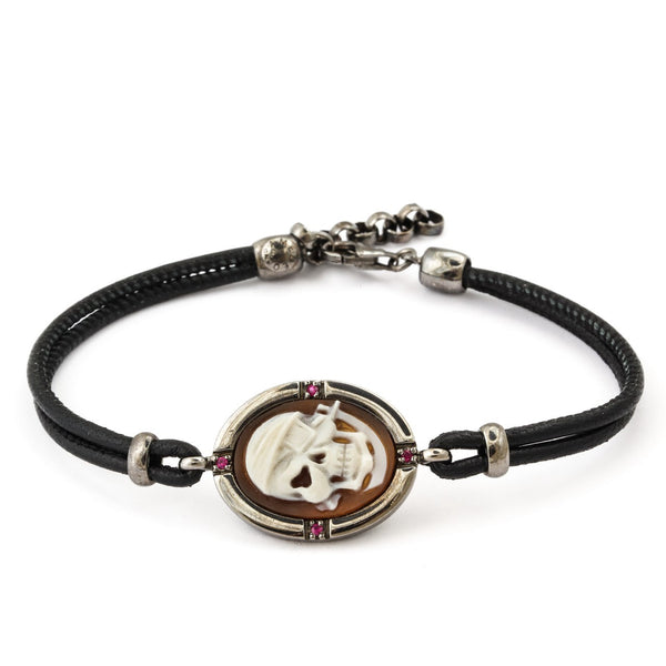 """Pirata"" Leather Bracelet"