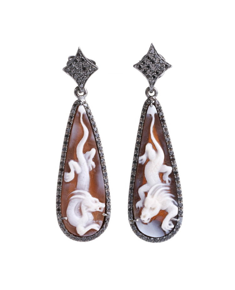 """Dragon"" Earrings"