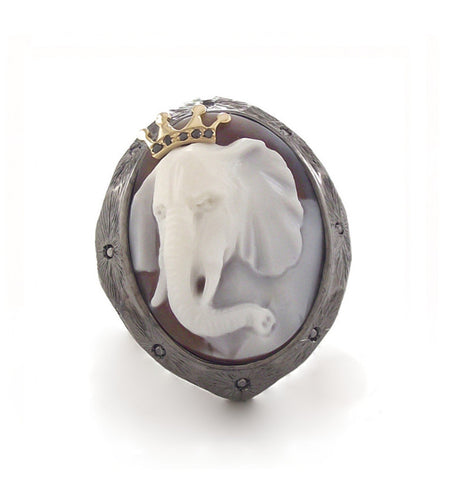 """WISE MONKEYS"" POISON RING"
