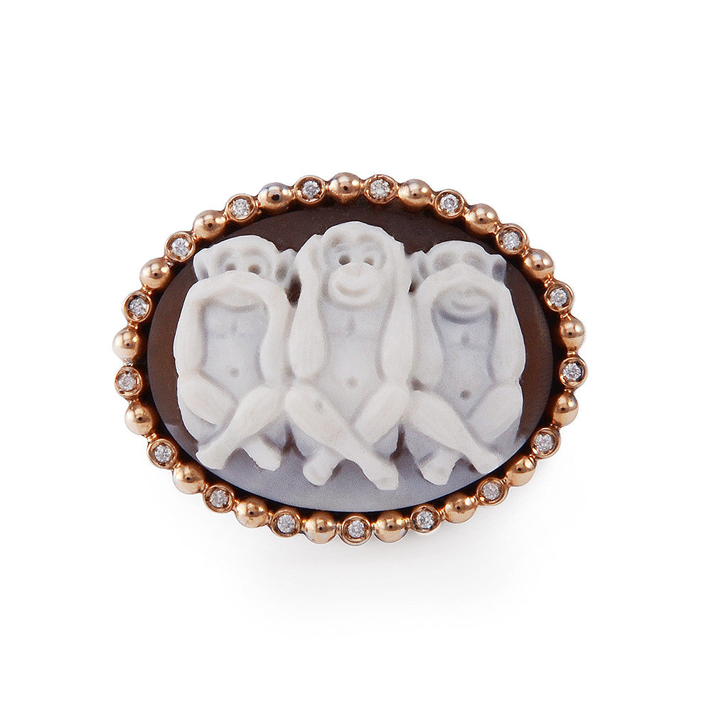 HEAR NO EVIL RING