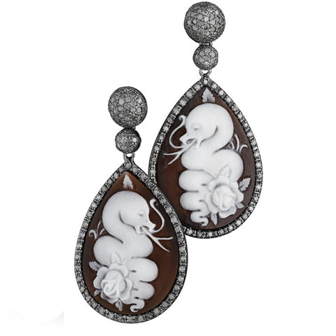 "COUTURE ""SCIMMIETTE"" EARRINGS"
