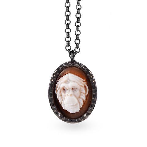 """Regina"" Cameo Necklace"