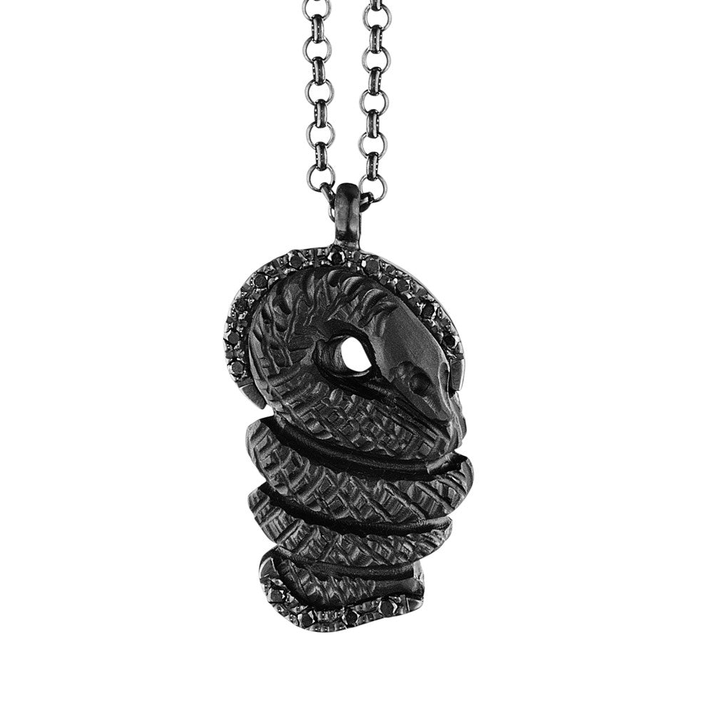 SsSsssnake Lava Necklace