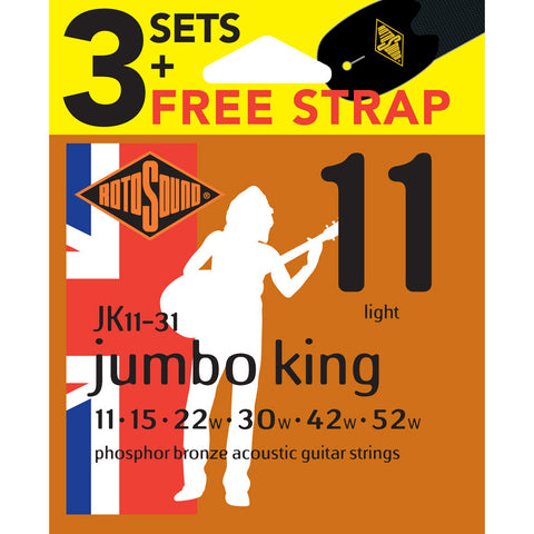 Rotosound RJK1131 PB Value Pack 11-52's
