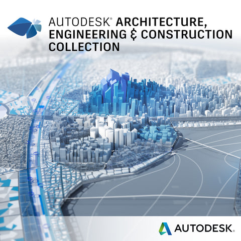 Architecture Engineering Construction Collection IC Commercial New Single-user ELD Annual Subscription with Basic Support