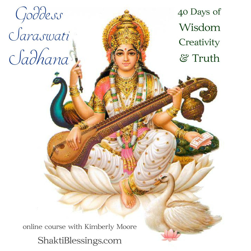 40 Days of Saraswati - Prompts and Practices for a Saraswati Sadhana