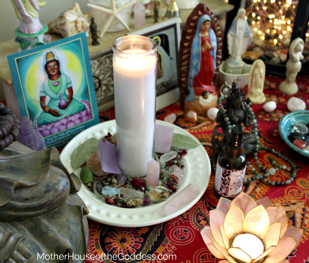 Goddess and Intentional Candle Workings