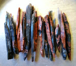 Mahogany Obsidian Needles - Set of 5