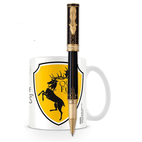 Montegrappa, Tintenroller, Game of Thrones, Baratheon, Schwarz-1