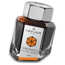 Caran d'Ache, Tintenglas, Electric Orange-1
