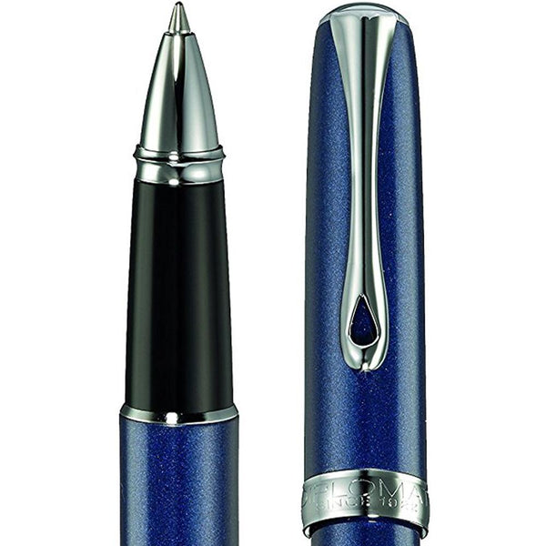Diplomat, Tintenroller, Excellence A2, Midnight blue chrom-2