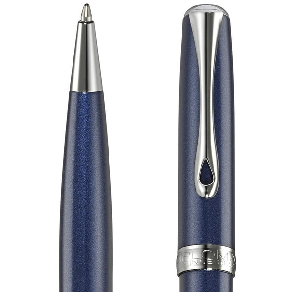 Diplomat, Bleistift, Excellence A2, Midnight blue chrom-2