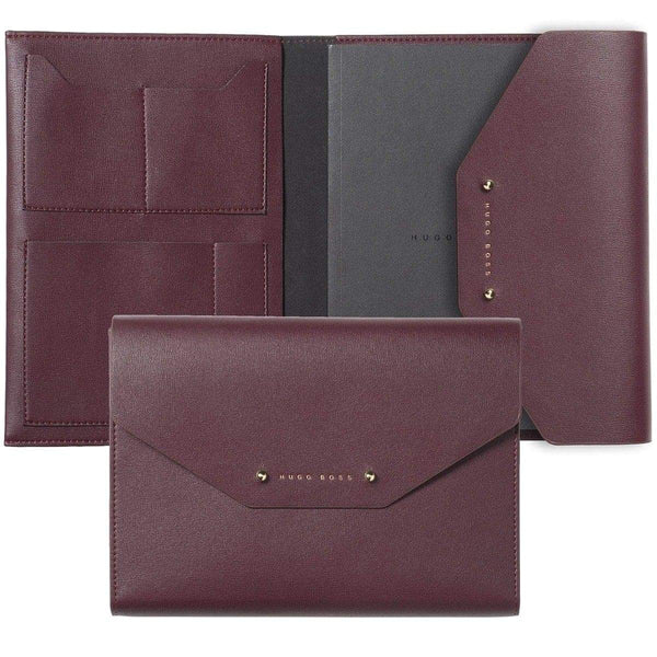 HUGO BOSS, Notizbuch-Set Sophisticated, Gold