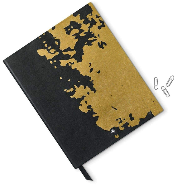 Montblanc, Notebook #149, Ancient Calligraphy, Schwarz/Gold-2